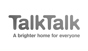 Talk Talk Logo wall decals and office design