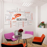 Logo Word Cluster in Office by Vinyl Impression