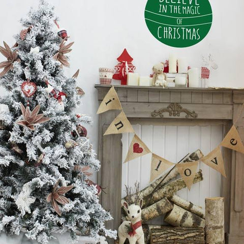 Removable Christmas decorations for homes