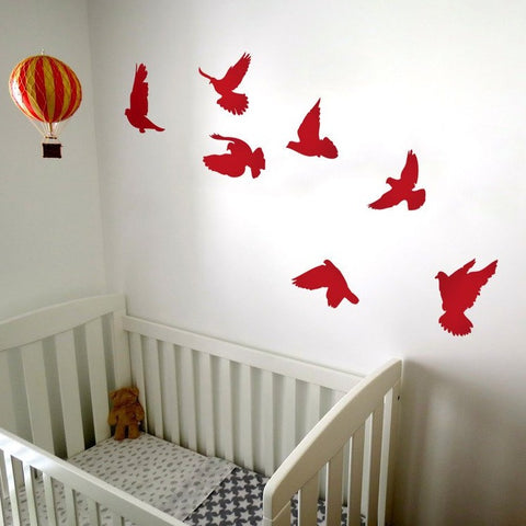 Room Decor - Birds removable wall sticker