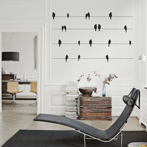 Bird Wall Decal - Removable sticker