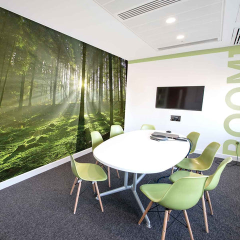 British Woodland Wall Mural