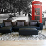 British Telephone Wall Mural in  by Vinyl Impression