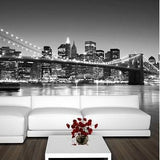 Brooklyn Bridge Mural in All Products by Vinyl Impression