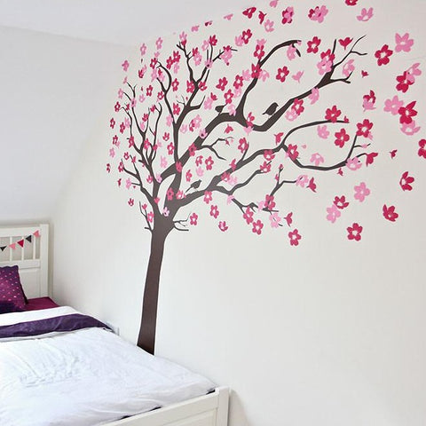 Kids tree for bedroom wall vinyl sticker decal