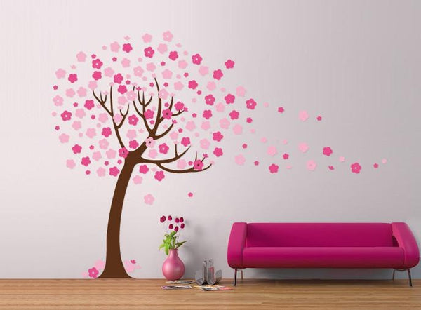 Children's Tree with blossom Vinyl Wall Sticker in Popular by Vinyl Impression