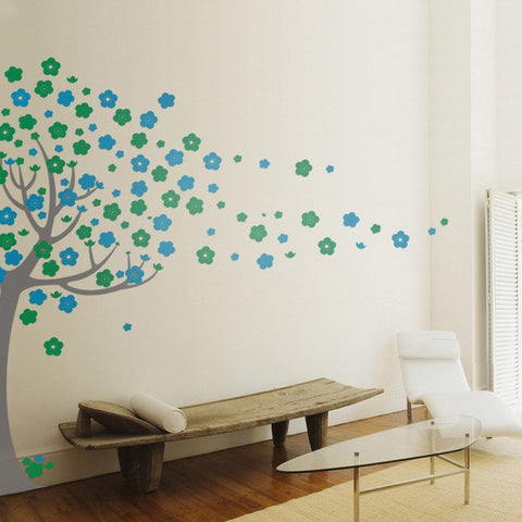 Children's Decal - removable Tree wall stickers - by vinyl impression