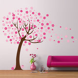 Children's Tree with blossom Vinyl Wall Sticker in  by Vinyl Impression