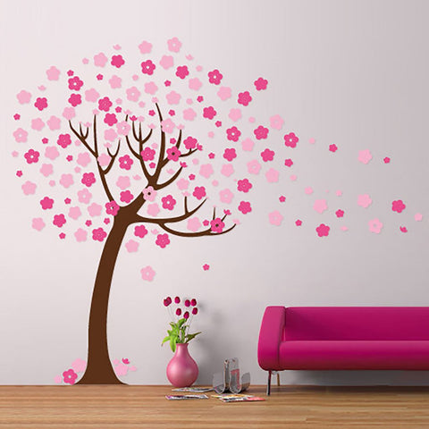 Nursery Tree Decal - removable wall stickers - by vinyl impression