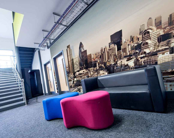 City of London Wall Mural in Wall Covering by Vinyl Impression