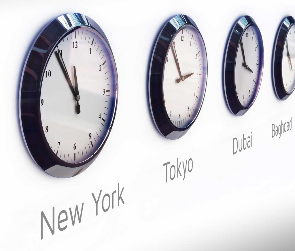 Clock City Name Office Wall Stickers Vinyl Impression
