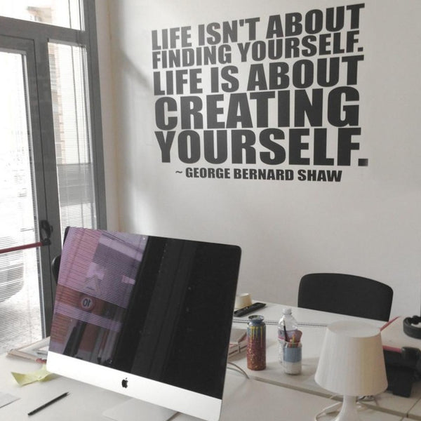 Creating Yourself Wall Sticker in  by Vinyl Impression