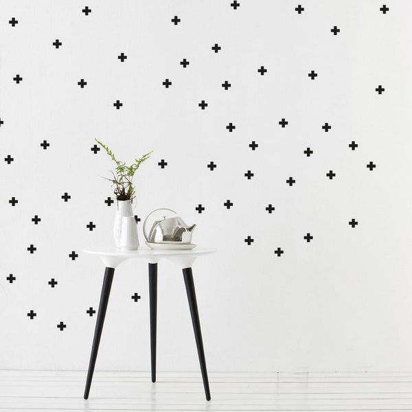 Little Crosses Wall Stickers in All Products by Vinyl Impression