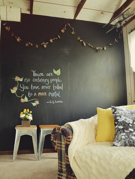 Chalkboard Vinyl Wall Sticker in  by Vinyl Impression