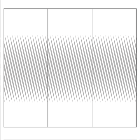 Diagonal Lines Window Film