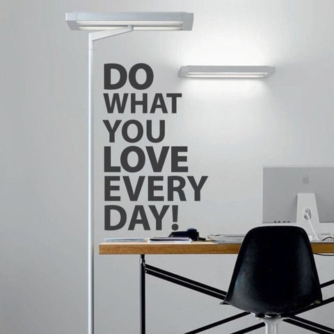 Do What you love - Removable wall sticker - by vinyl impression