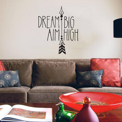 Hand drawn style wall art sticker for homes and offices