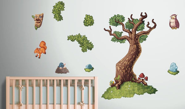 Fairytale Tree Wall Sticker in Popular by Vinyl Impression