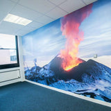 Premium Volcano Wall Mural (Laminated) in  by Vinyl Impression