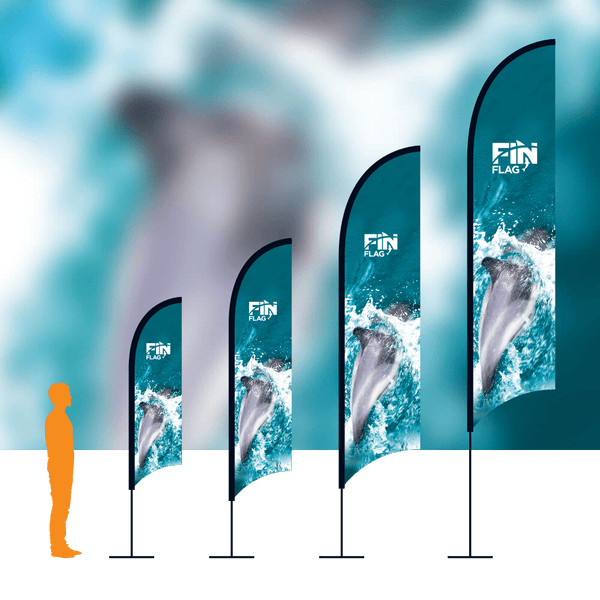 Fin Flag in Event by Vinyl Impression