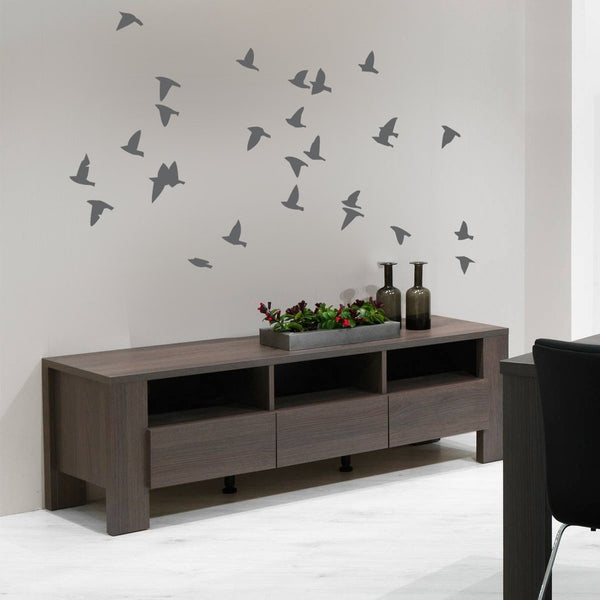 Flock of Birds Wall Sticker in  by Vinyl Impression