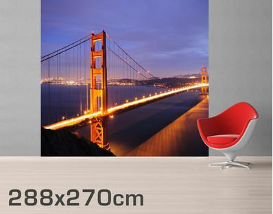 Golden Gate Bridge Wall Mural in  by Vinyl Impression