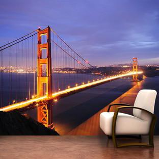 Golden Gate Bridge Wall Mural - By Vinyl Impression