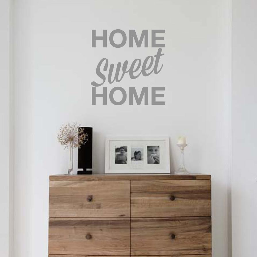 Wall stickers home sweet home - Home Sweet Home Wall Sticker In By Vinyl Impression