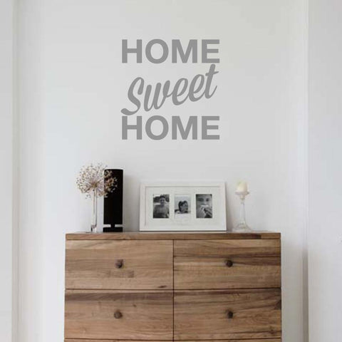 Home sweet home wall sticker for home interior decoration