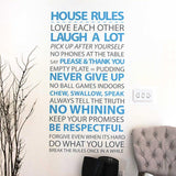 House Rules Vinyl Wall Sticker in Popular by Vinyl Impression