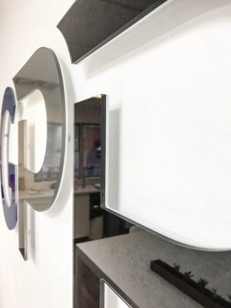 3D Printed Acrylic Logo in Office by Vinyl Impression
