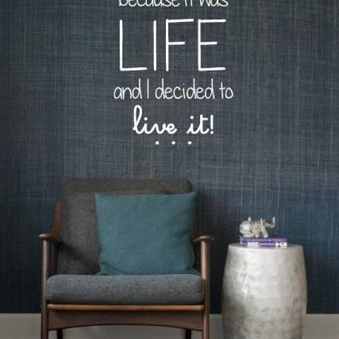 Home Wall Stickers - I'll look back UK Wall Sticker - By Vinyl Impression