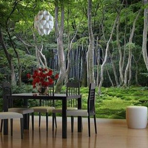 Wall Mural - Japanese Forest - By Vinyl Impression