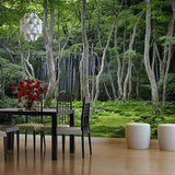 Japanese Forest Wall Mural in  by Vinyl Impression
