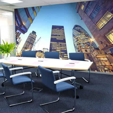Tower 42 wall mural for offices