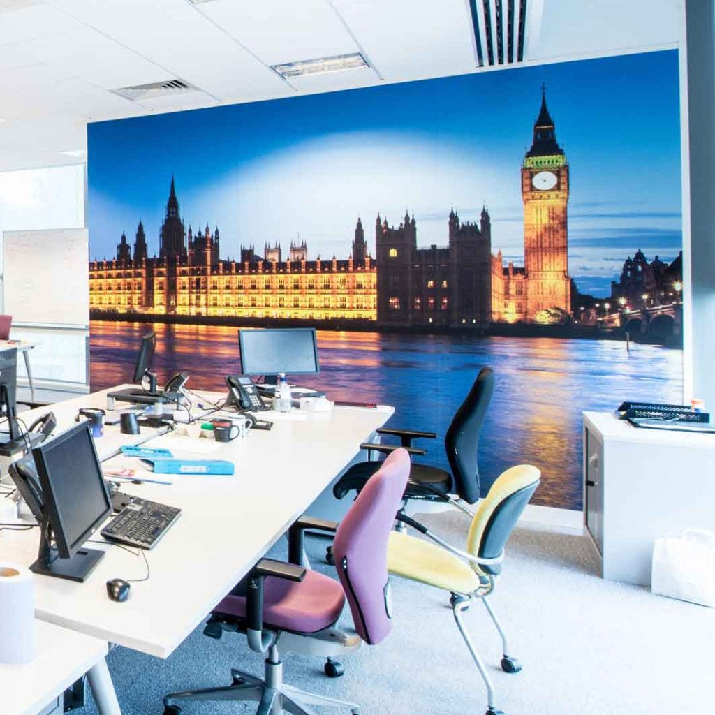 art wall mural shenra com big ben wall mural in colour at night removable photo murals by