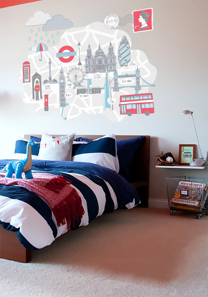 British themed Vinyl Wall Sticker Vinyl Impression