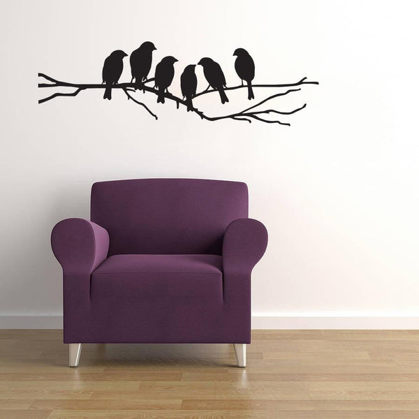 Love Birds Wall Sticker in  by Vinyl Impression
