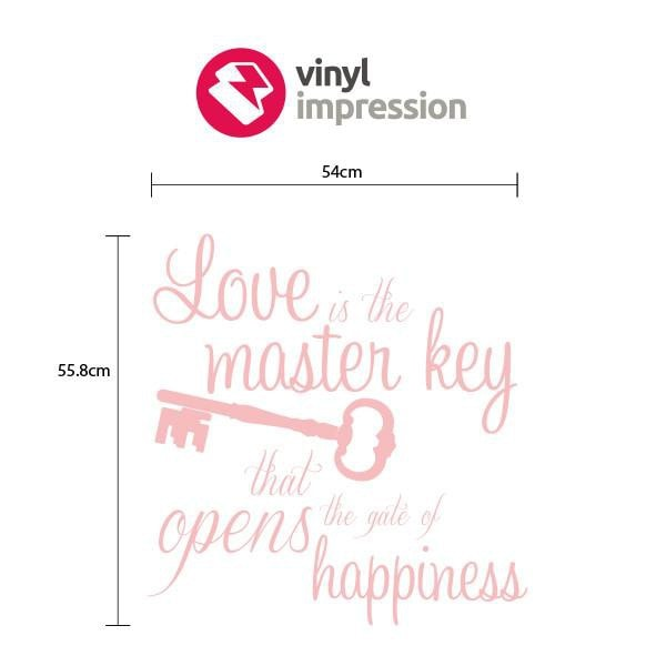 Love is the Key in  by Vinyl Impression