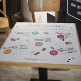 Square Table Wraps in  by Vinyl Impression