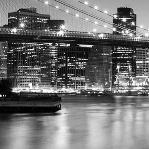Office Decor - Brooklyn Bridge Mural - By Vinyl Imression