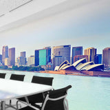 Premium Sydney Harbour Wall Mural (Laminated) in  by Vinyl Impression
