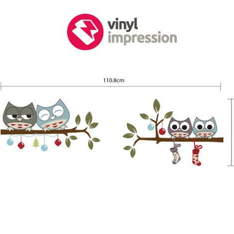 Removable Christmas wall sticker for interior decoration