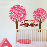 Owl in the trees, Vinyl Wall Sticker in  by Vinyl Impression