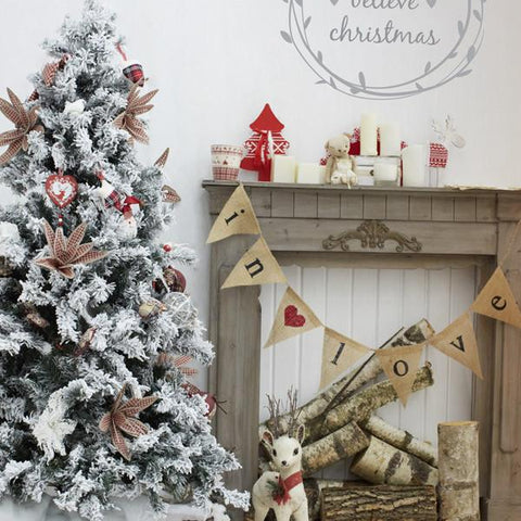Peace at Christmas decoration wall sticker from Vinyl Impression