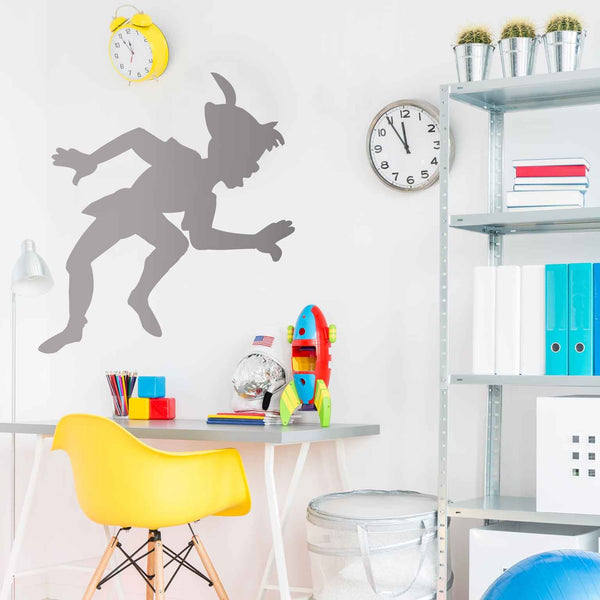 Peter Pan's Shadow Wall Sticker in  by Vinyl Impression