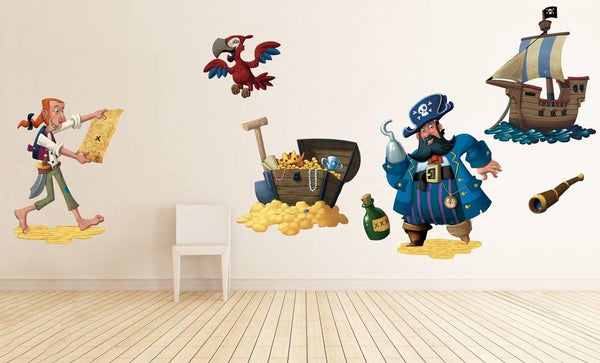 Pirates wall sticker in Home by Vinyl Impression