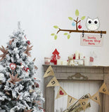 Please stop here Christmas decoration wall sticker in  by Vinyl Impression