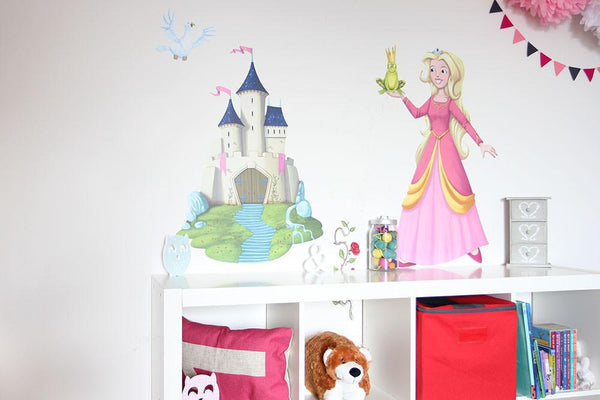 Princess wall sticker in  by Vinyl Impression