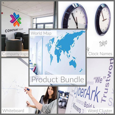 Office Branding Sticker Bundle